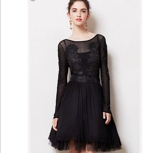 Black lace sexy prom dress